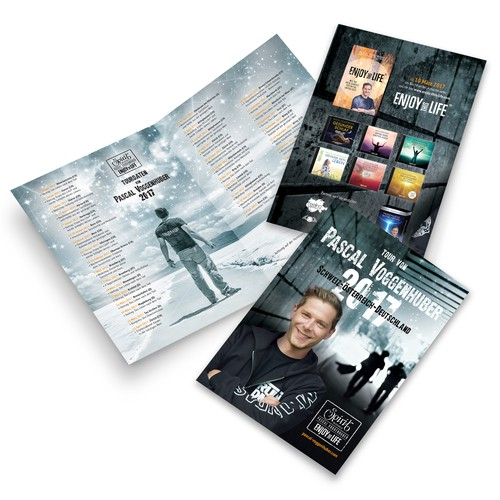 Brochure for Pascal Voggenhuber 2017 Tour