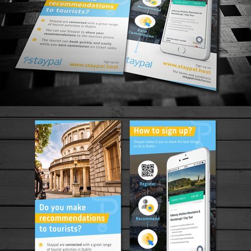 DL flyer design for Staypal