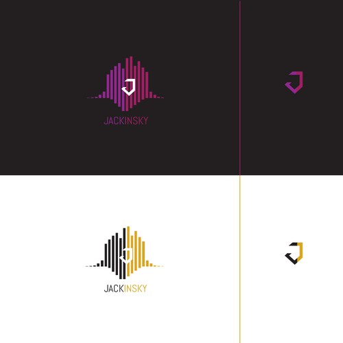 Logo concept for Jackinsky (DJ)