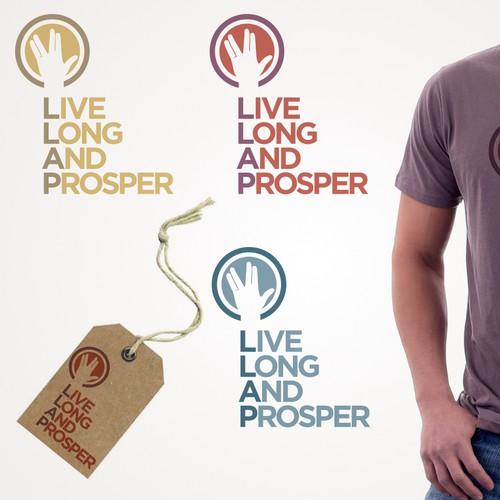 Live Long and Prosper Logo Identity