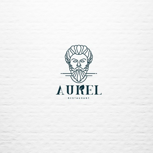 Aurel Restaurant Logo Design