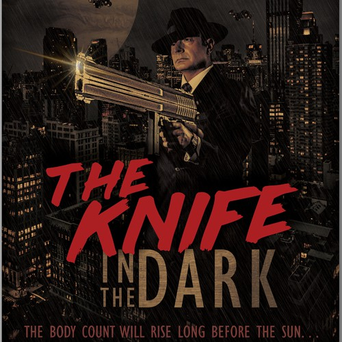 The Knife in The Dark Book Cover Art