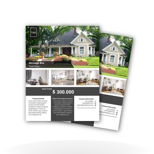 """Flyer Design """"Real Estate"""""""