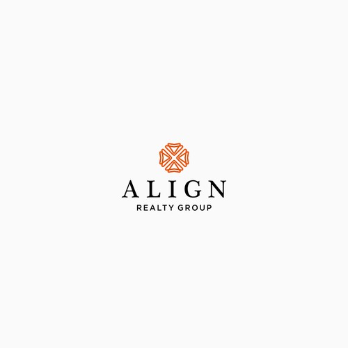 Characteristics logo concept for Align Realty Group