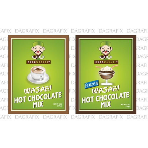 Label for Hot Chocolate & Frozen Hot Chocolate Package Needed