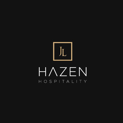 Redesign of logotype for JL Hazen Hospitality
