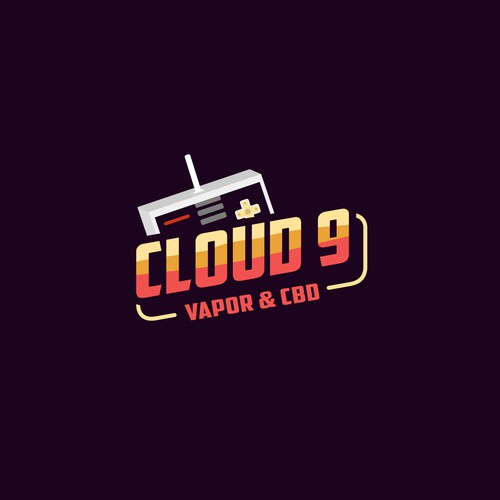 Cloud 9 - T Shirt Design