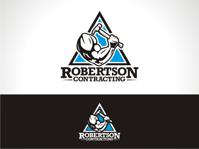Help robertson contracting with a new logo