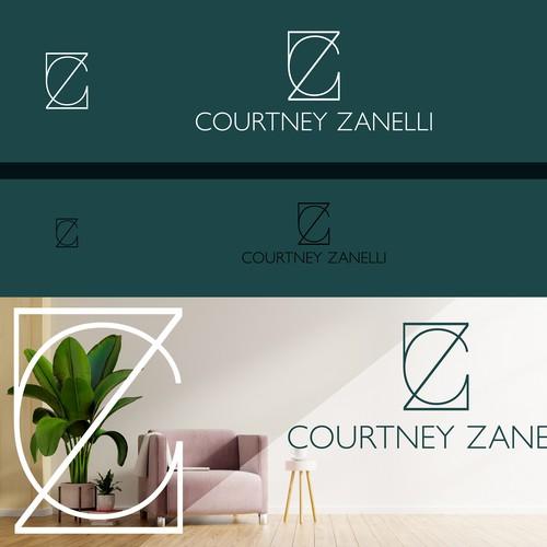 elegant logo for interior design