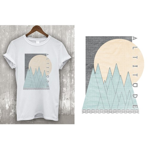 Design t-shirts for an exciting new clothing company.