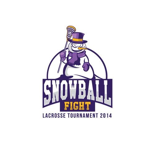 Logo for Kinkaid Snowball Fight Tournament