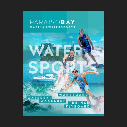 Paraiso Bay  flyer