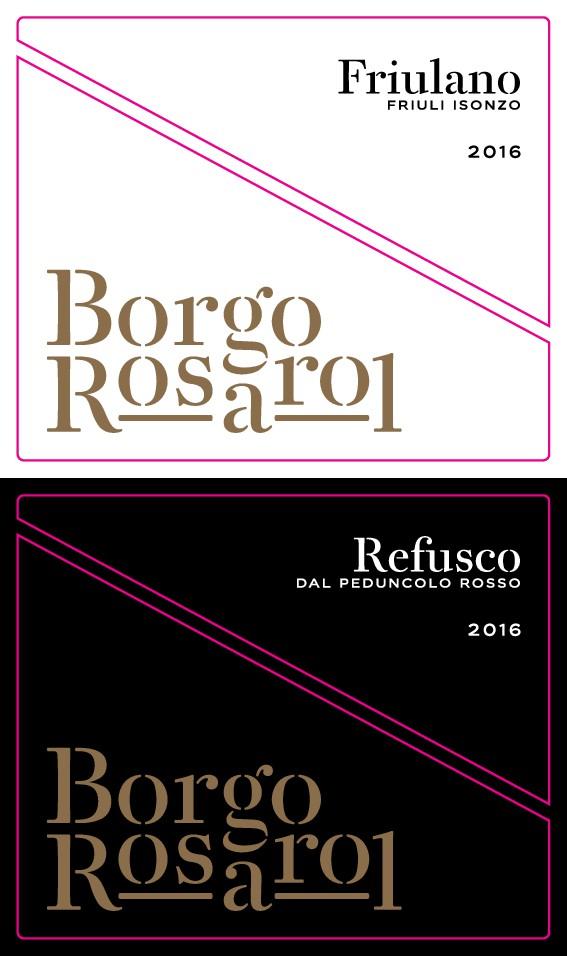 New Label for Borgo Rosarol Wines to conquer new markets!