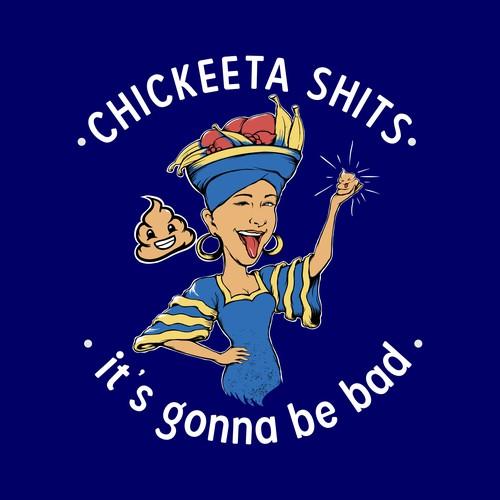 Funny T-Shirt themes for Chickeeta Shits