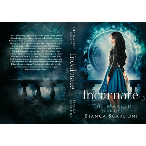 Cover for Incarnate, book 5 in The Marked Series