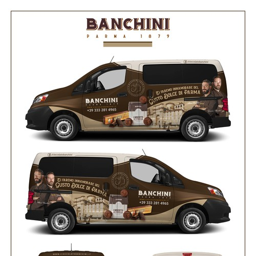 Vehicle Wrap for BANCHINI