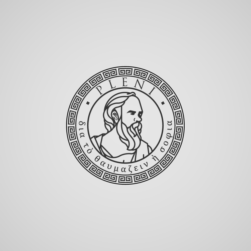 Luxurious and modern logo for Socrates's inspired business.
