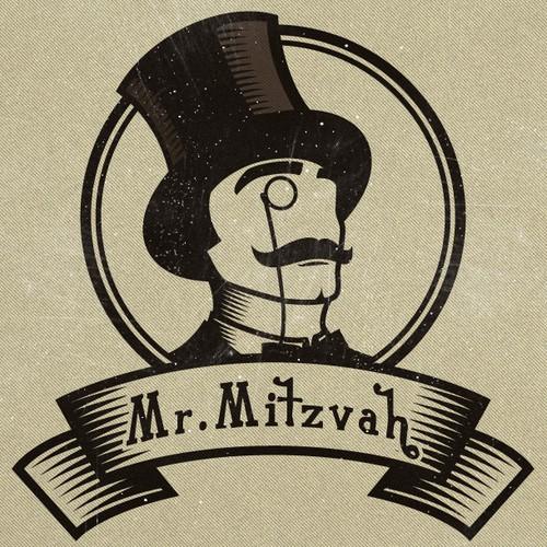 """Logo for """"Mister Mitzvah"""""""
