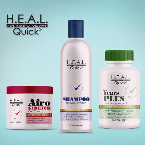 Quick H.E.A.L product line