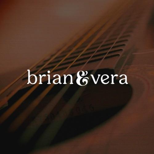 brian&vera logo design