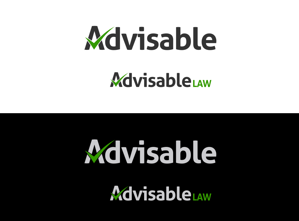 Create the next logo for Advisable Law