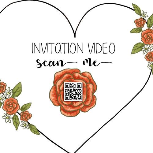Heart invitation