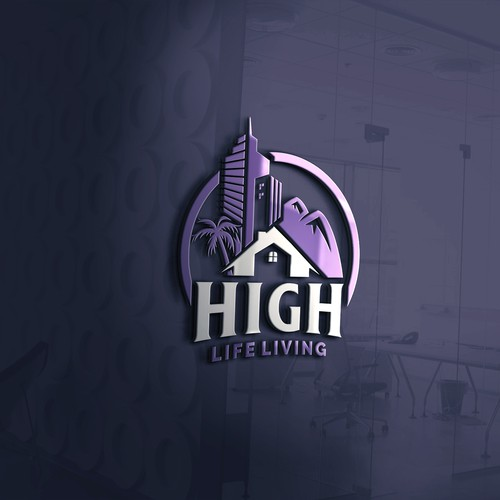 HIGH Life Living Logo