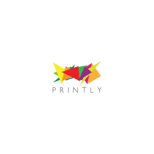 Abstract logo concept for Printly