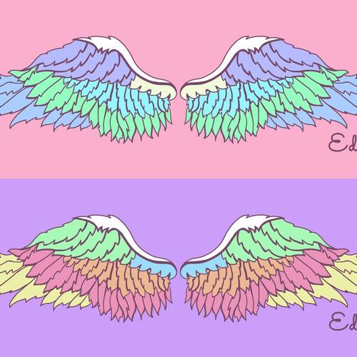 Wings Towel Illustration