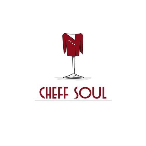 Wine Glass Chef Jacket