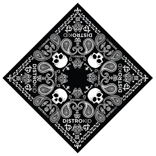 Black Bandana for DistroKid