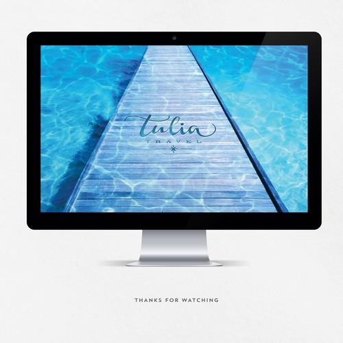 Elegant Logo Travel Agency