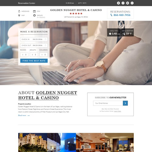 online hotel booking engine!