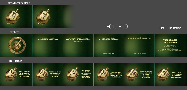 TODOS PONEN TODOS GANAN necesita un(a) nuevo(a) brochure design