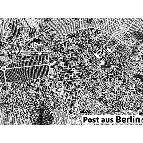 Design a city map of Berlin