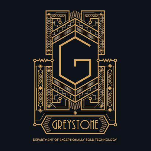 Art Deco logo for Greystone
