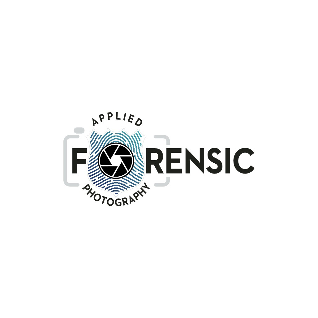 Subtle and unique logo for special photographic methods used for crime scene documentation