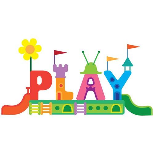 Playful logo for a playground park