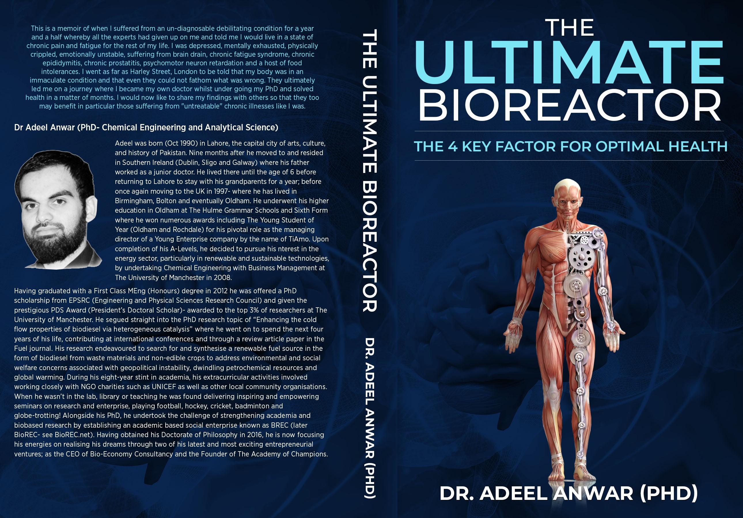 Create a memorable masterpiece for The Ultimate Bioreactor