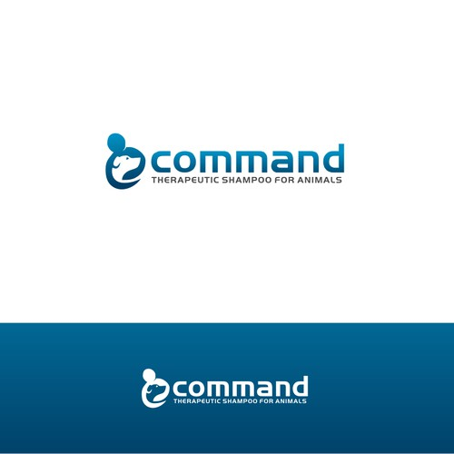 Command! Shampoo Logo for Animals