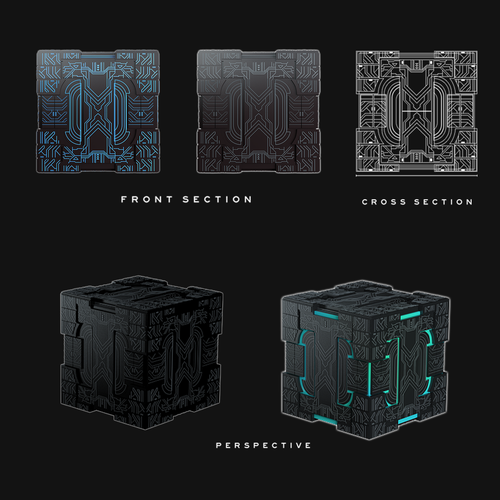 Futuristic Power Cube
