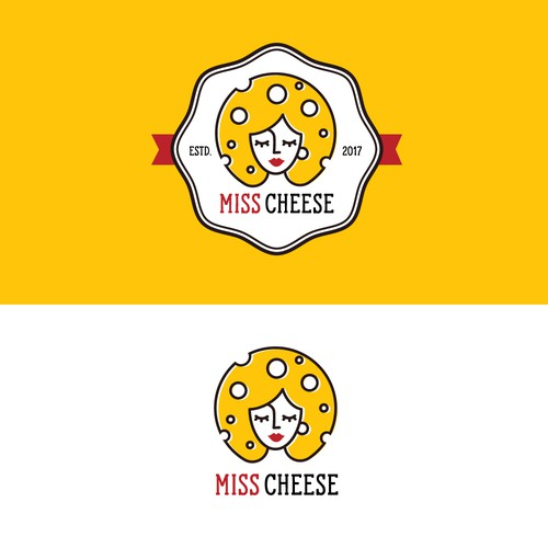 Fun logo for a cheese brand