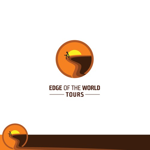 Logo concept for Edge of the World