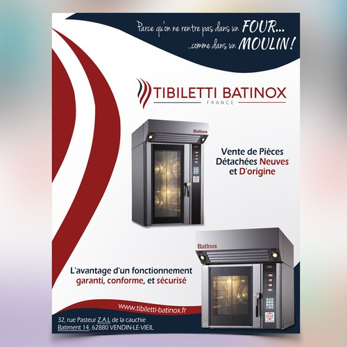 Flyer for TIBILETTI BATINOX