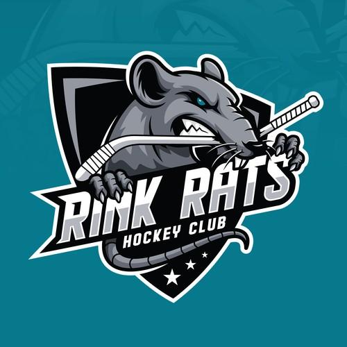 Rink Rats hockey team logo