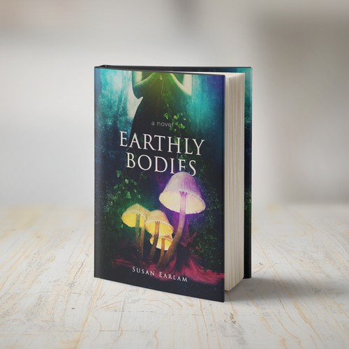 Book cover design for the Earthly Bodies novel.