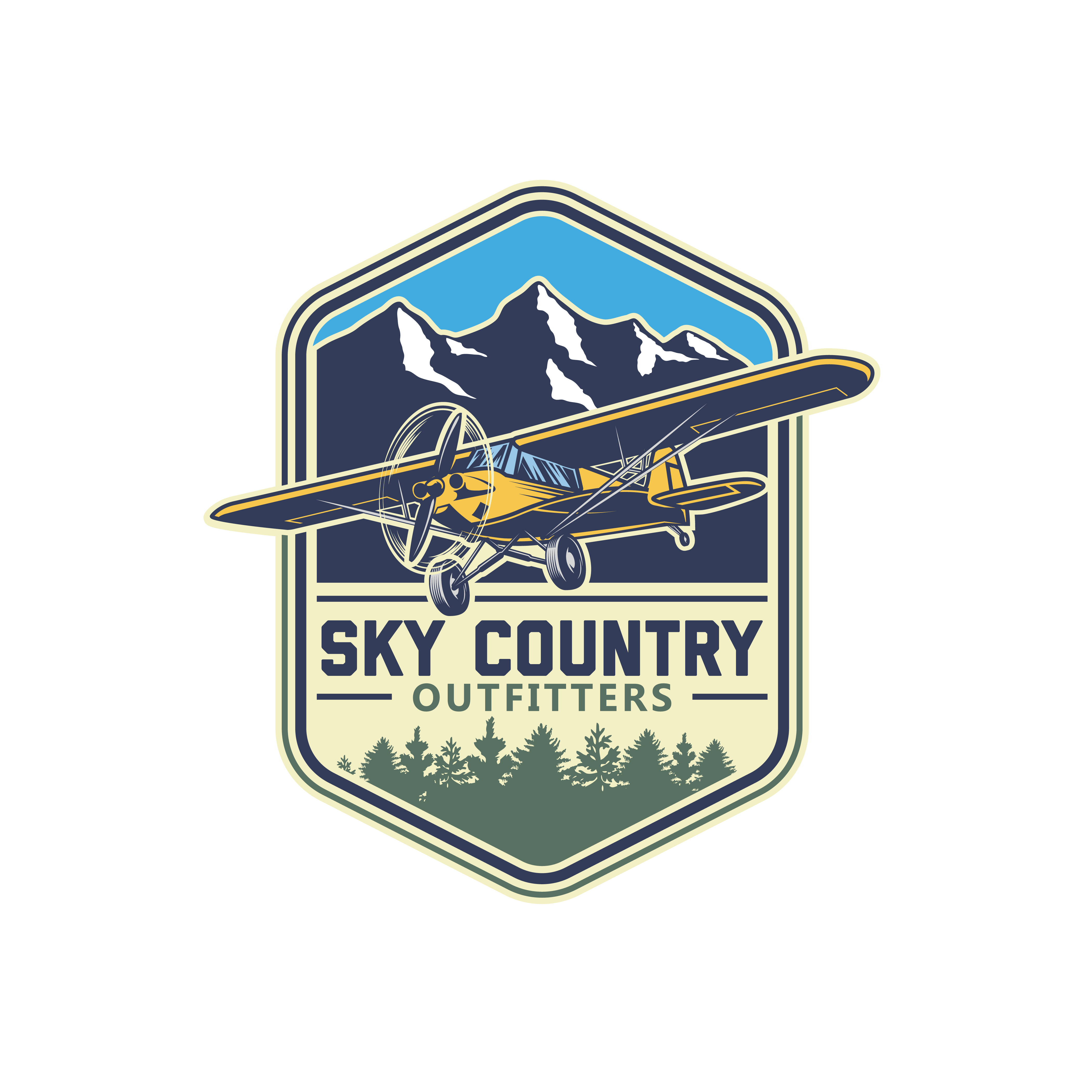 Help create a logo for premiere back country flying expeditions in (Bush Planes)