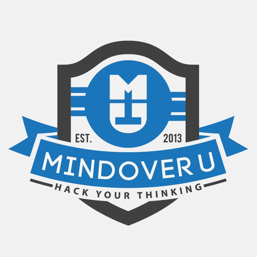 Logo for Mindover U: Hack Your Thinking