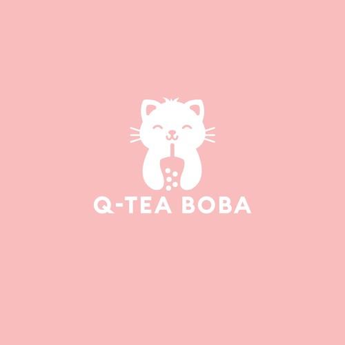 logo for Q Tea Bubble