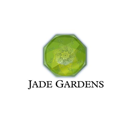 Create the next logo for Jade Gardens